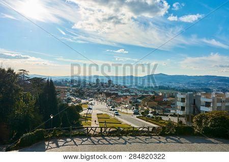 Penafiel, Portugal - February 05, 2015: View Of The City Penafiel Porto District, Portugal.