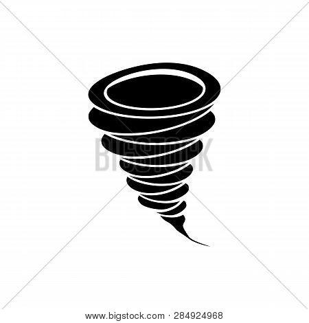 Hurricane Icon. Simple Illustration Of Hurricane Icon For Web