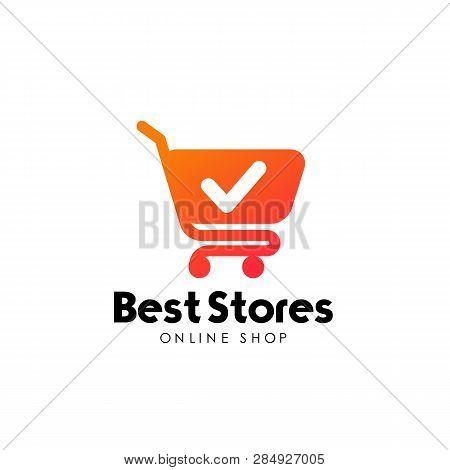 Shopping Cart Logo Design Template