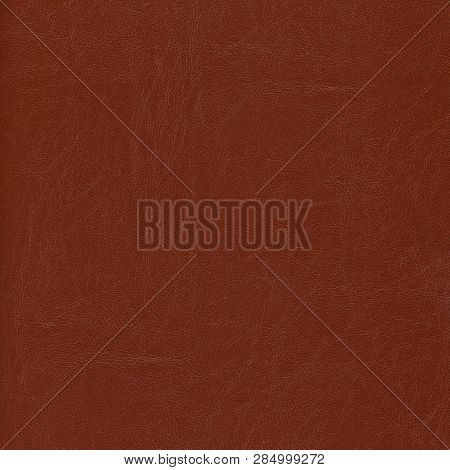 The Brown Natural Luxury Leather Textured Background .