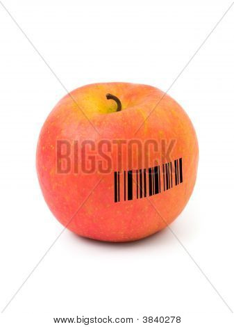 Apple With Barcode