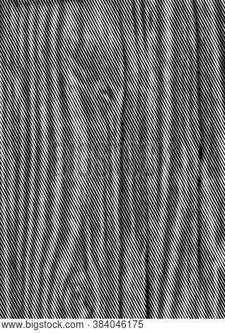 Grunge Vintage Monochrome Template With Slanted Lines Effects And Wooden Texture Vector Illustration