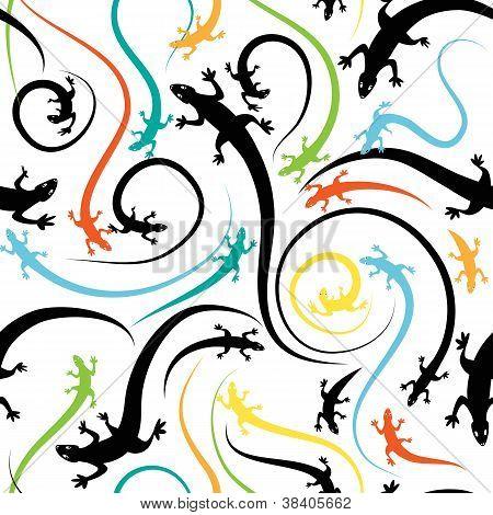 Lizard Seamless
