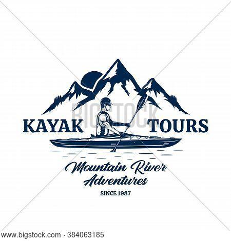 Vector Kayak Tours Badge