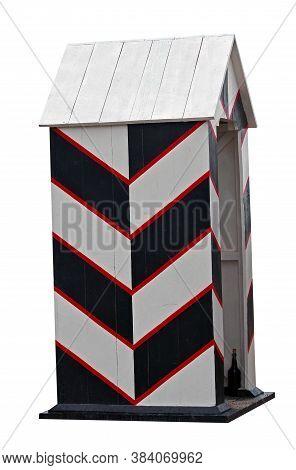 Wooden Sentry Box, Reconstruction Of The Box Of The Xviii Century