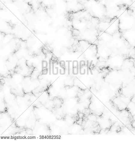 Marble Texture. Abstract Marbling Pattern. Black And White Marble Vector Background.illustration Eps