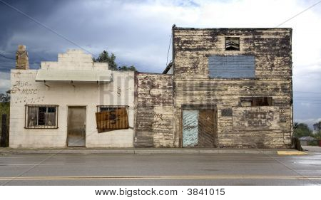 Old Dance Hall And Saloon