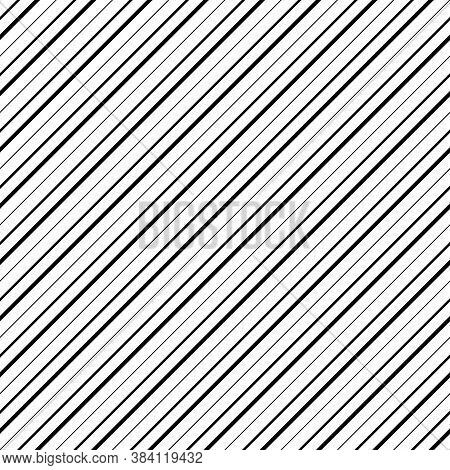 Diagonal Lines Abstract On White Background. Seamless Surface Pattern Design With Linear Ornament. A