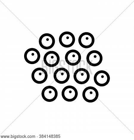 Black Line Icon For White-pepper White Pepper Jalapeno Peppercorn Spicy Spoon Tart Condiment Spice F