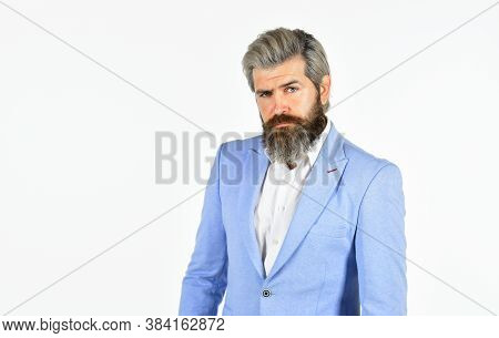 Businessman Lifestyle. Good Looking Ceo. Office Worker. Business Reputation. Formal Style. Handsome