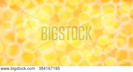 Abstract Yellow Gold Bokeh For Background Blurred, Gold Glitter Glow For Luxury Backdrop Decoration,