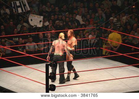 Triple H And Jeff Hardy