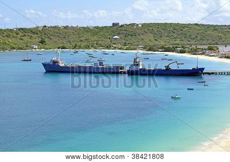 Transportation: Cargo Ships.