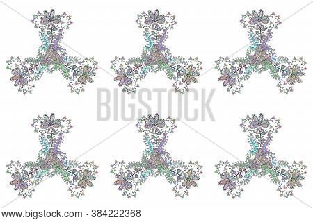Raster Illustration. Seamless Decorative Background. Can Be Used For Cards, Invitations, Save The Da