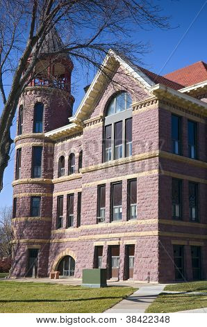 Rock County Courthouse Corner