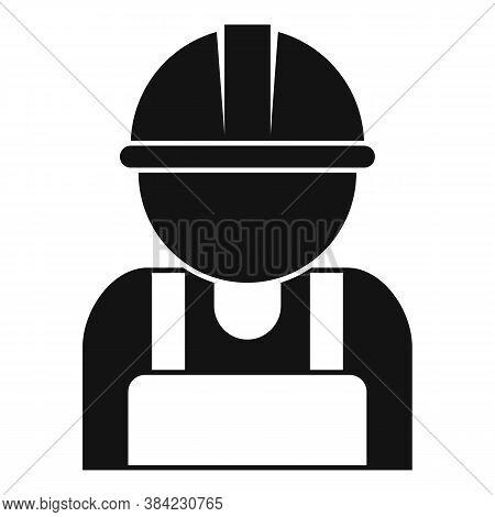 Tiler Man Icon. Simple Illustration Of Tiler Man Vector Icon For Web Design Isolated On White Backgr