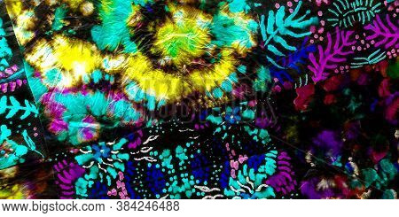 Dirty Art Print. Rainbow Particles Graffiti Light. Rainbow Dirty Paper Art. Splash Tie Pattern. Colo