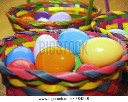 Easter Baskets Perspective