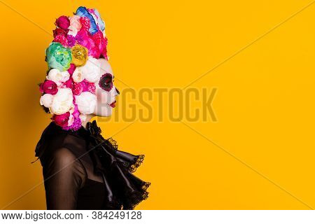 Profile Photo Of Calavera Katrina Undead Bride Mourning Husband Latin Cemetery Traditional Funeral W