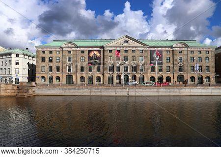 Gothenburg, Sweden - August 26, 2018: Museum In Gothenburg, Sweden. Gothenburg Is The 2nd Largest Ci