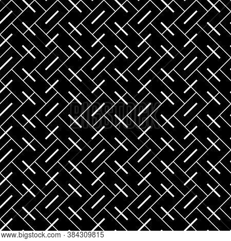 Geometric Abstract. Herringbone Pattern. Rectangle Slabs Tessellation. Seamless Surface Design With