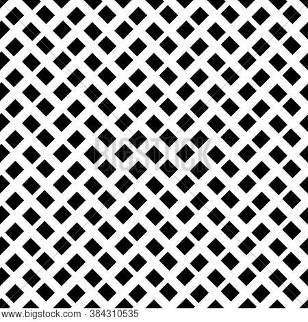 Geometric Abstract. Slanted Rectangle Slabs. Checkered Pattern. Seamless Surface Design With Tilted