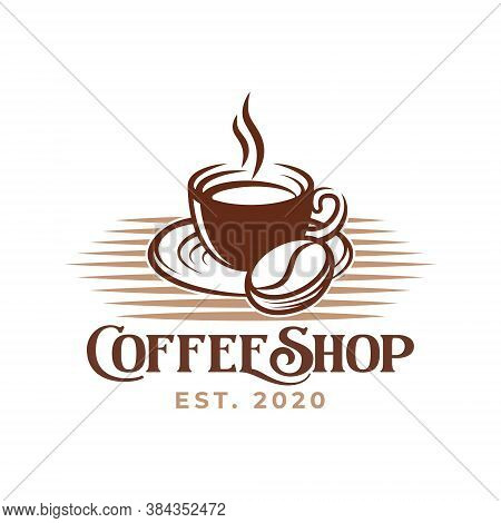Coffee. Coffee Logo. Coffee vector. Coffee Logo vector. Coffee cup Logo. Coffee Shop logo. Coffee beans Logo. Coffee Logo design. Coffee Logo icon vector. Coffee Sign. Coffee Symbol. Trendy Coffee Cup Logo vector design illustration template.