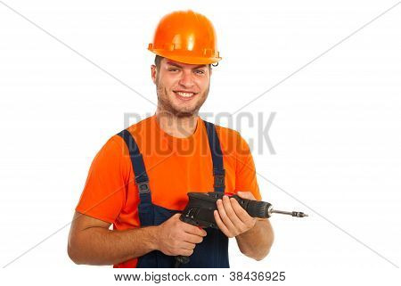 Happy Driller Man