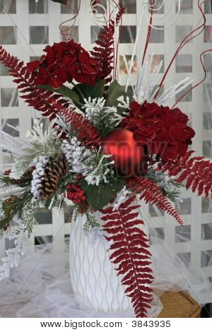 Christmas Decoration Vase
