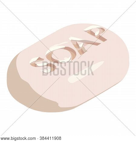 Soap Cleaner Icon. Isometric Of Soap Cleaner Vector Icon For Web Design Isolated On White Background