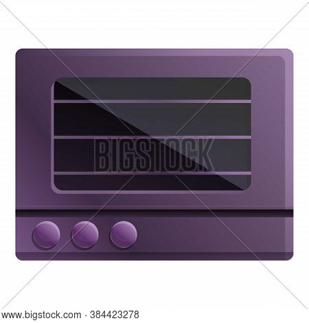 Appliance Convection Oven Icon. Cartoon Of Appliance Convection Oven Vector Icon For Web Design Isol