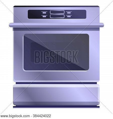 Smoker Convection Oven Icon. Cartoon Of Smoker Convection Oven Vector Icon For Web Design Isolated O