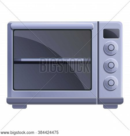 Temperature Convection Oven Icon. Cartoon Of Temperature Convection Oven Vector Icon For Web Design