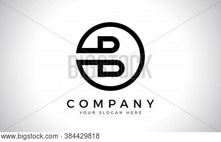 Initial Letter B Logo With Creative Modern Business Typography Vector Template. Creative Abstract Le