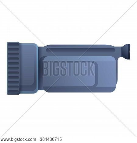 Television Camcorder Icon. Cartoon Of Television Camcorder Vector Icon For Web Design Isolated On Wh