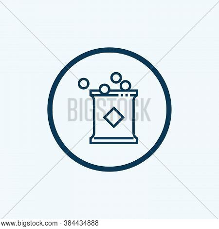 Snack Icon Isolated On White Background From Take Away Collection. Snack Icon Trendy And Modern Snac