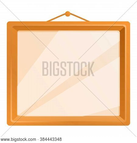 Picture Photo Frame Icon. Cartoon Of Picture Photo Frame Vector Icon For Web Design Isolated On Whit
