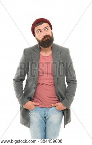 Bearded Hipster Brutal Person. Bully Hipster. School Of Good Manners. Tips And Tricks Handsome Man.