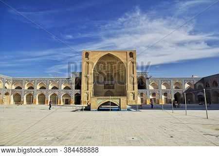 Isfahan / Iran - 03 Oct 2012: Jameh Mosque In Isfahan, Iran