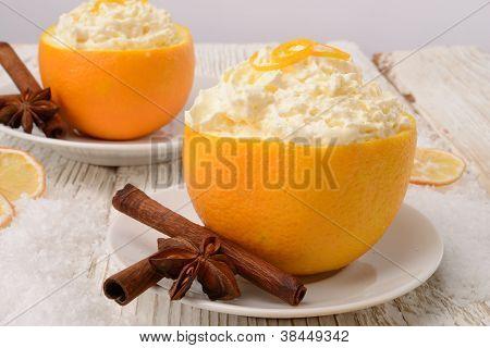 Cream - Oranges - Cinnamon