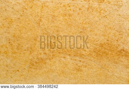 Old Empty Brown Paper. Texture Of Old Blank Dirty Paper Sheet.