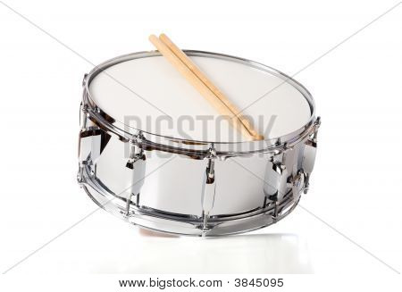 Snare Drum Set With Sticks