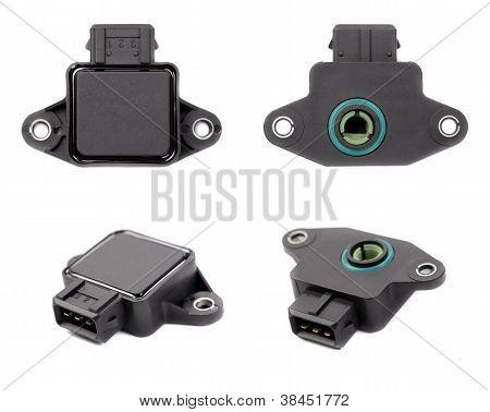 Collage Of Four Throttle Position Sensor