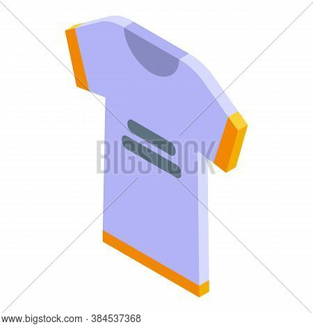 Hurling Tshirt Icon. Isometric Of Hurling Tshirt Vector Icon For Web Design Isolated On White Backgr