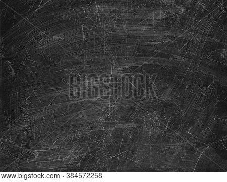 Black Blackboard Chalkboard Texture.empty Blank Black Scratched Chalkboard.school Board Background W