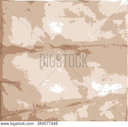 Light Grunge Stained Abstract Template With Faded Paper Texture Vector Illustration
