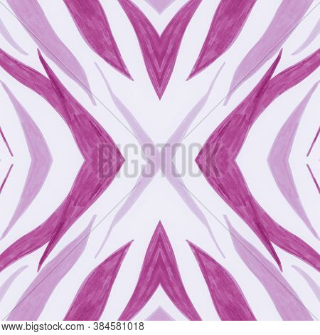 Pastel African Print. Watercolor Animal Fur Texture. White Fashion Leopard Background. Wild Stripes