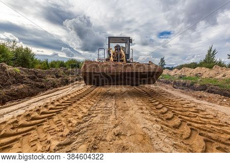 Road Construction And Working Of The Construction Machinery.