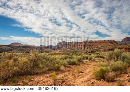Gooseberry Mesa National Recreation Trail (nrt) Is Located In Southern Utah's Red Rock Country. At A