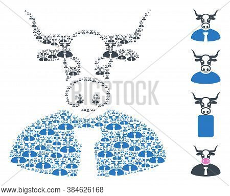 Vector Bull Chief Composition Is Designed From Random Recursive Bull Chief Elements. Recursive Compo